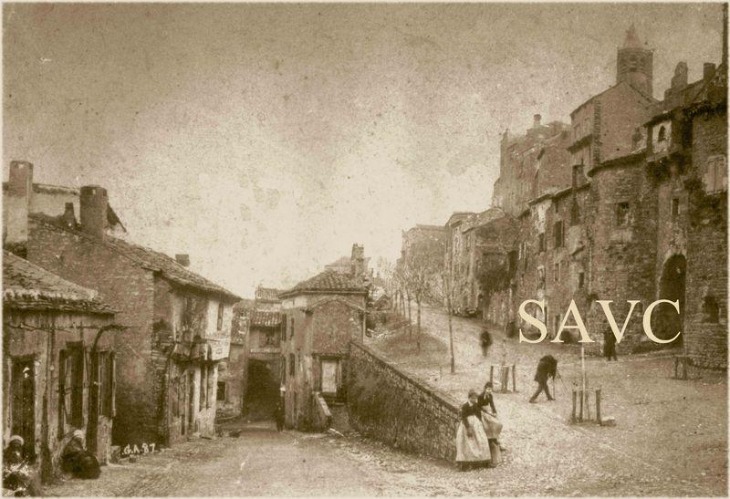 lices et porte de la Jane 1887
