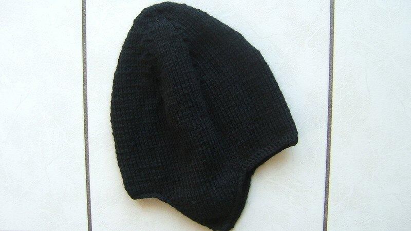 modele tricot bonnet peruvien
