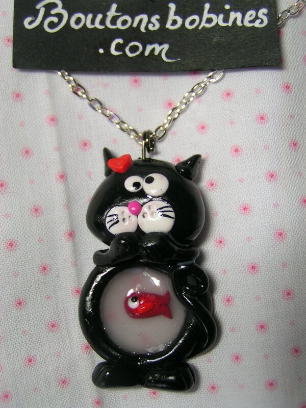 collier indigestion de chat