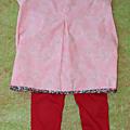 Ensemble leggings - tunique