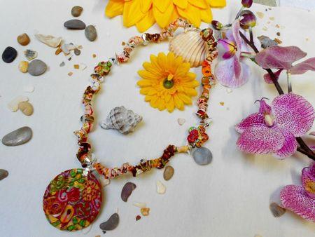 Collier romantic flower n°2 A vendre (1)