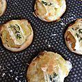 Tartelettes aux poireaux caramélisées
