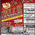 Marché de noël du marais vernier le 30/11/2014