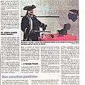Embarquement pour la corse des pirates de méditerranée (article du corse-matin du 25/03/2012)