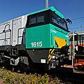 SFB (SNCF Fret Benelux) G2000 BB 1615, Bordeaux St Jean