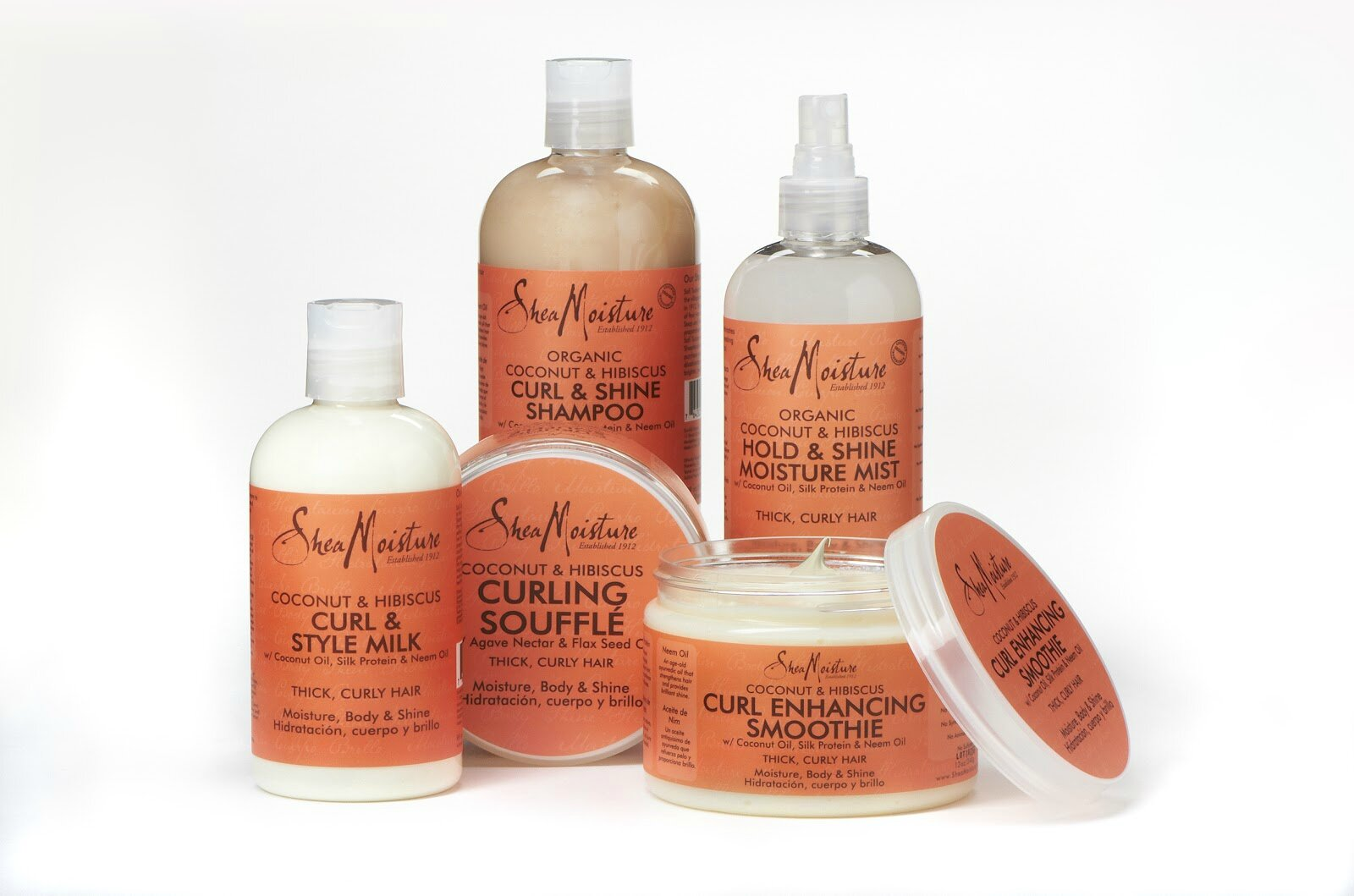 Natural Hair Product Storage