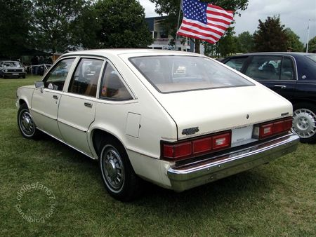 Chevrolet citation 5door hatchback 1980 Retro Meus Auto Madine 2011 2