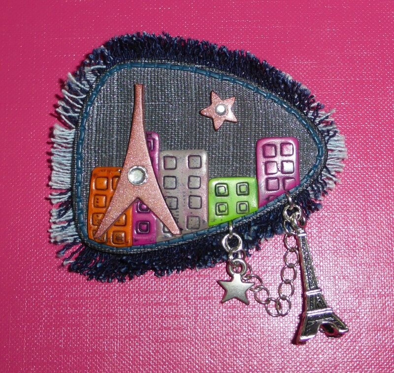 SOLY CAT- BROCHE STAGE ISABELLE CHATELAIN