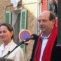 23 mars : Ségolène à Correns