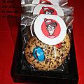 Cookies charlie (chocolat et mms) { je suis charlie }