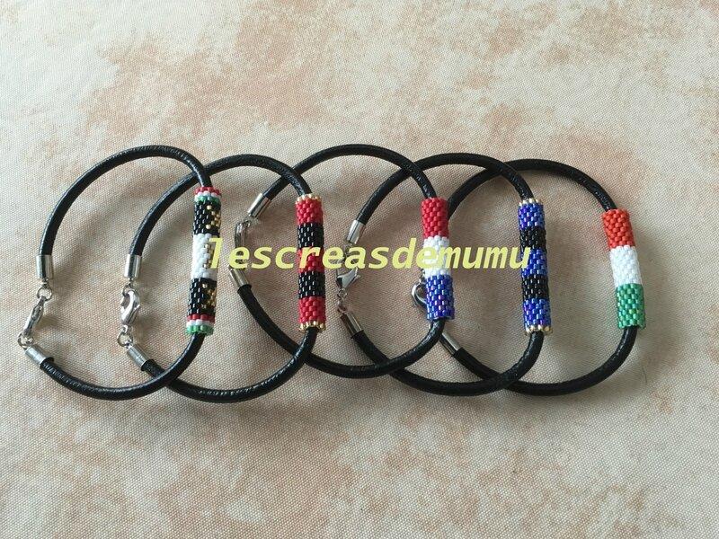 bracelets équipes de foot