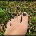 28 - blogiversaire : des paillettes sur les pieds ^^