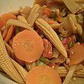Légumes chop suey.