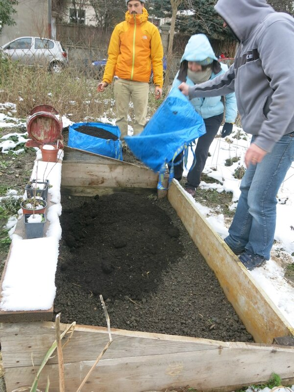couche compost