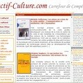Nouveau lien sur - Objectif culture