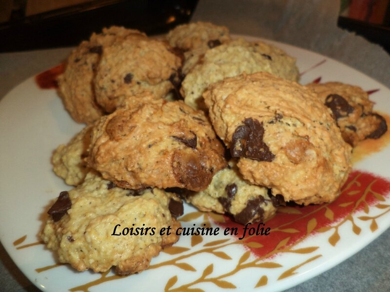 cookies flocon avoine