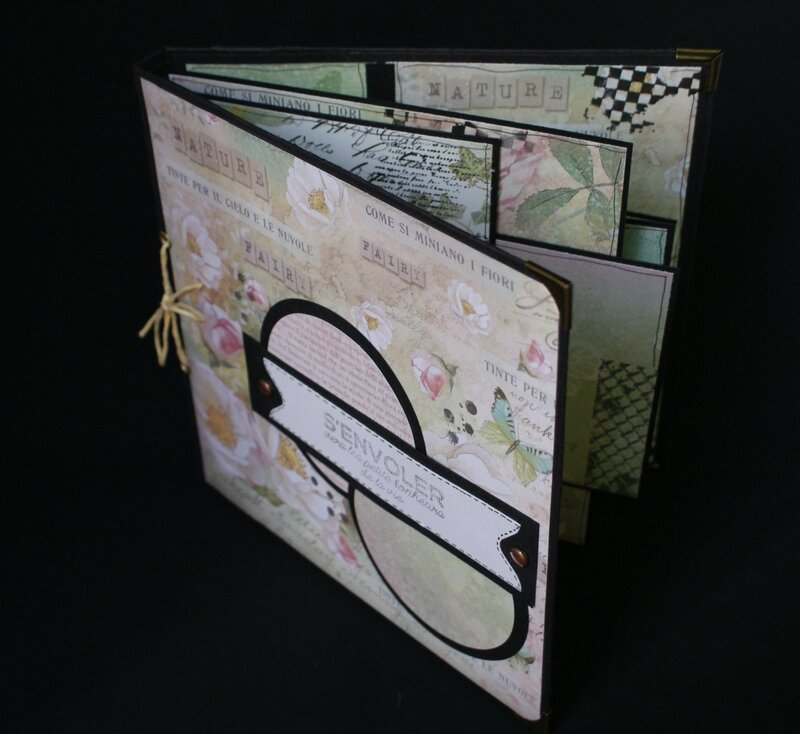 mini album multi pages isa