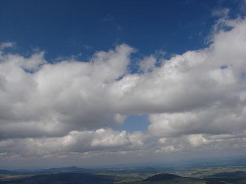 2008 04 24 Le ciel vu depuis le Mont Mézenc