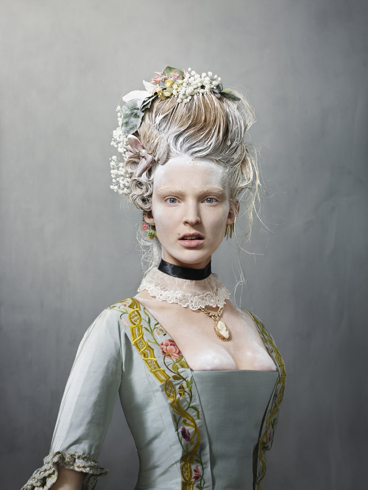 For the first time the Rijksmuseum presents a large selection of its fashion collection designed by world-renowned Erwin Olaf