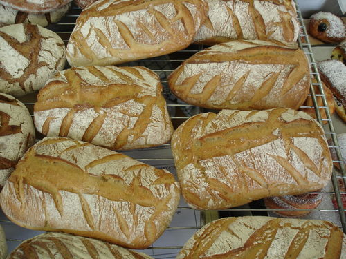 2008 05 21 Le pain Sübrot qui j'ai fait à l'école