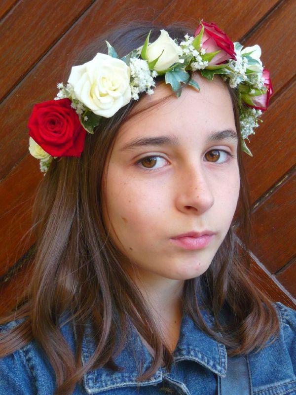 Coiffure demoiselle photo de boutonniere et bouquet for Fleuriste a domicile