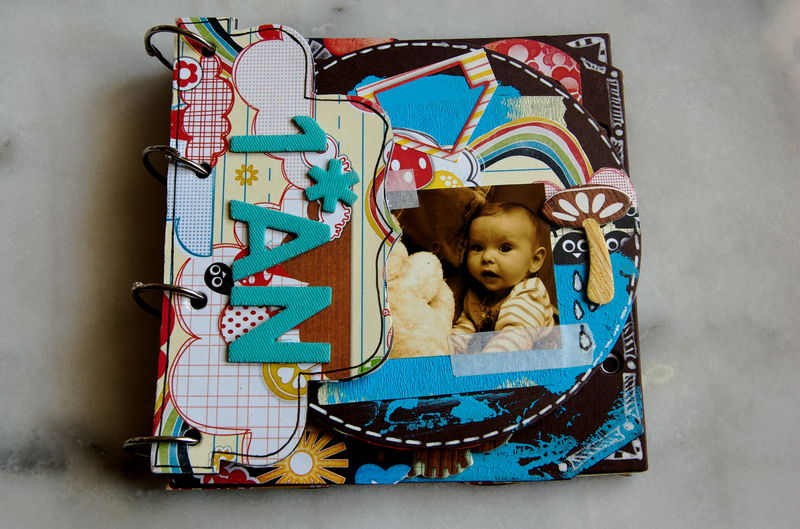 mini album scrap photo de scrapbooking liste de naissance. Black Bedroom Furniture Sets. Home Design Ideas