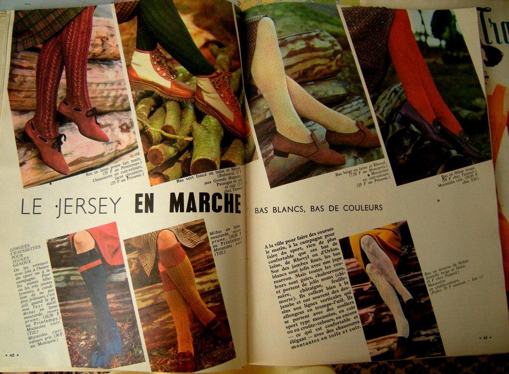 chaussures annees 60
