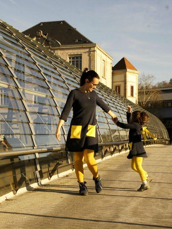 duo robe jaune 3