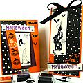 Invitations pour halloween