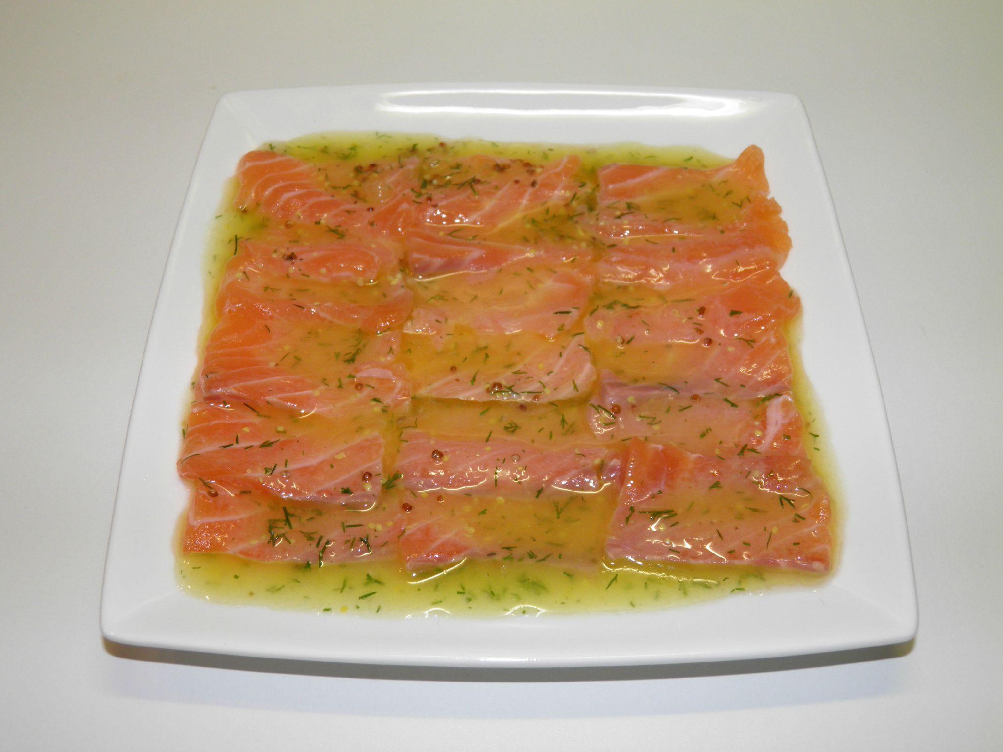 Carpaccio De Saumon Frais