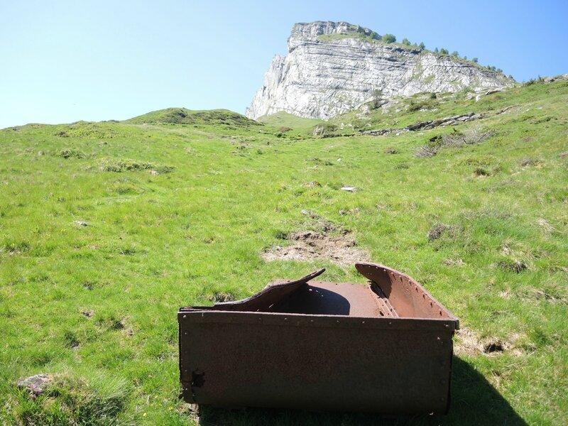 Gourette, C les Trois lacs, Plaa de Batch, mine de fer (64)