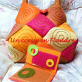 sac et portefeuille oranges 011