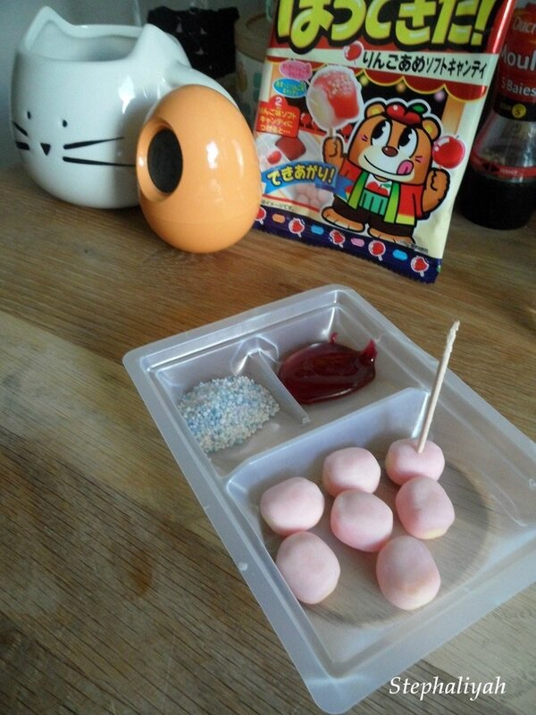 Hora dekita candy apple - 5