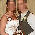 bouquet mariage original ivoire chocolat rétro
