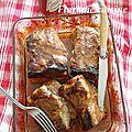 Travers de porc rôti à l'aigre douce