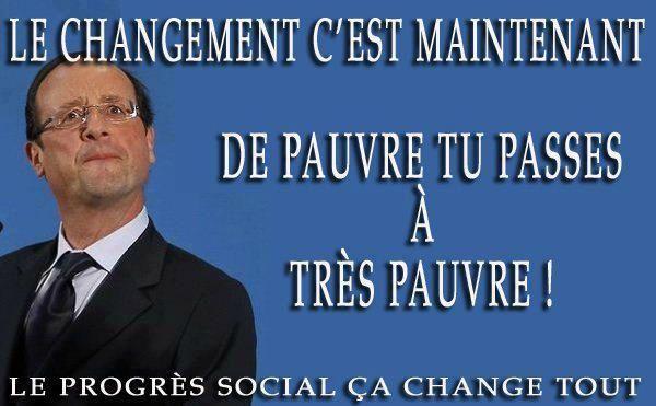Hollande et le progrès social