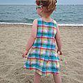 Une robe trapèze pour mademoiselle papapi