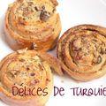 Escargots tahini-noix - tahinli anadolu çöreği