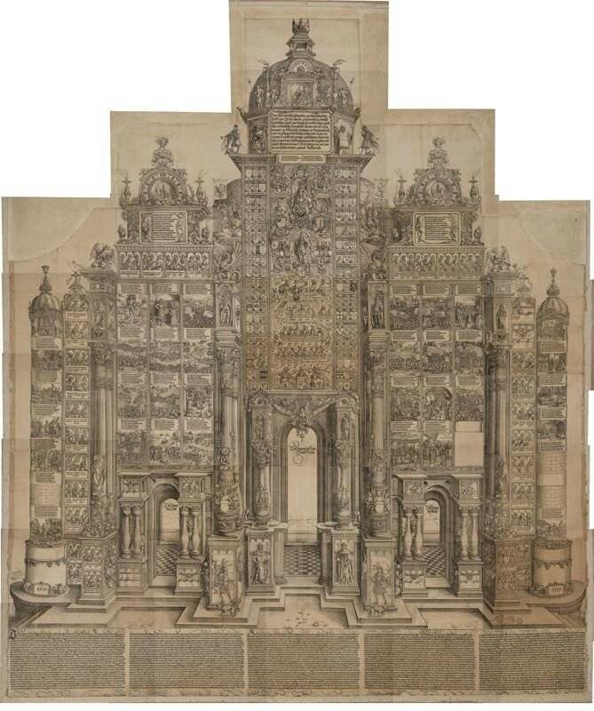 World's largest Renaissance woodcut by Albrecht Dürer was an act of imperial self-promotion
