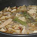 Viande, abats : tripes au cidre