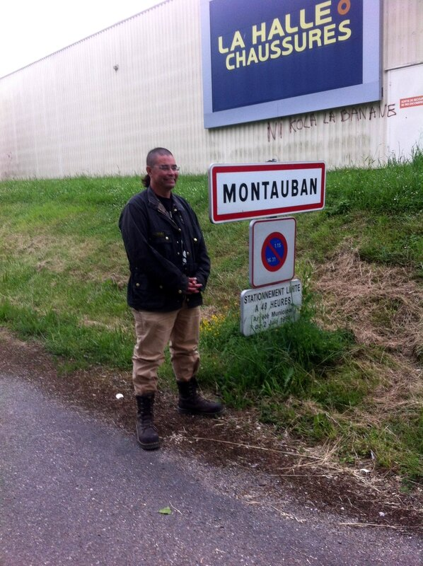 Joe in Montauban...again !