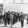 Inauguration du 1er stade de l'usbp
