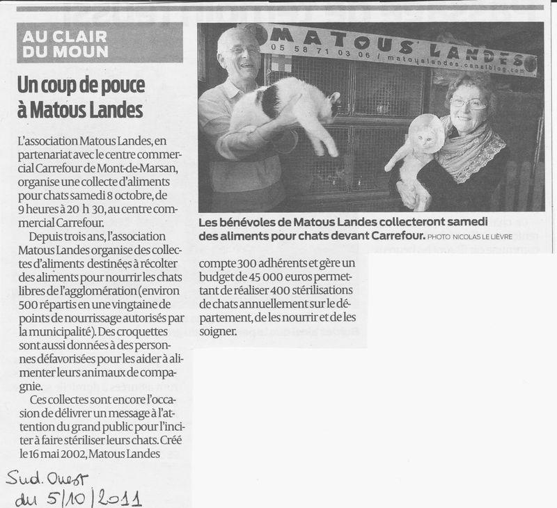 07 les medias matous landes - Journal sud ouest landes ...