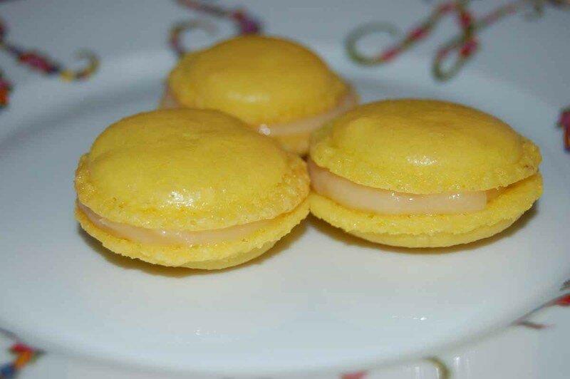macarons banane