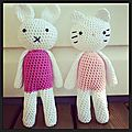 Amigurumis : hello kitty et miffy au crochet