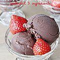 Crème glacée au chocolat avec seulement 3 ingrédients (sans sorbetière et sans crème)