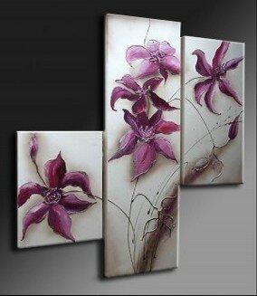 tableau moderne fleur