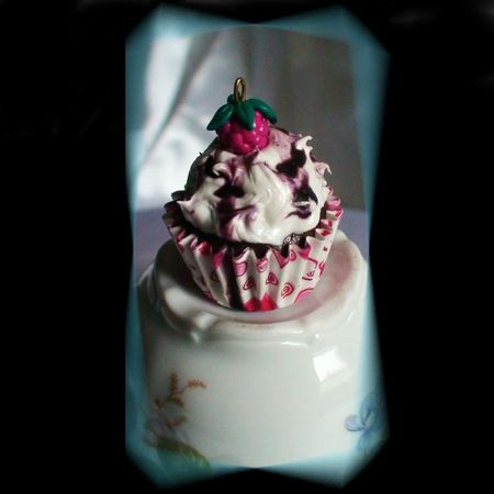 cup cake framboise