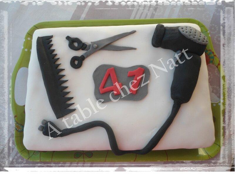 gâteau coiffure