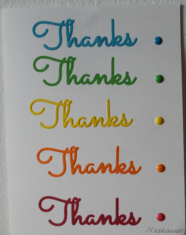 Thank you card 2014